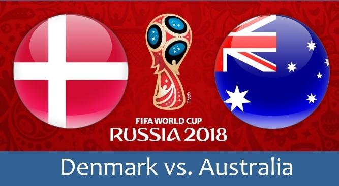 Kèo World Cup Đan Mạch vs Australia, 19h00 ngày 21/06 – Vòng bảng C 1