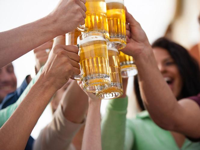 Uống bia có mập không?
