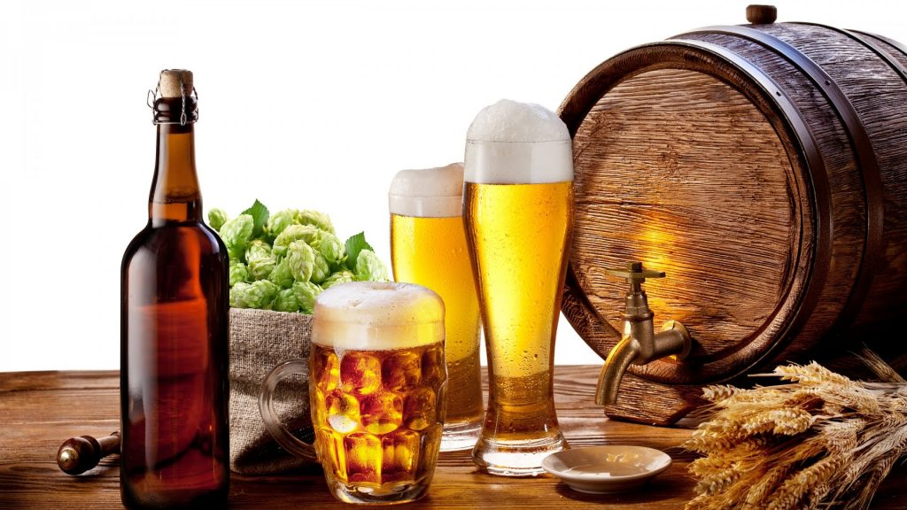 uống bia giảm cân