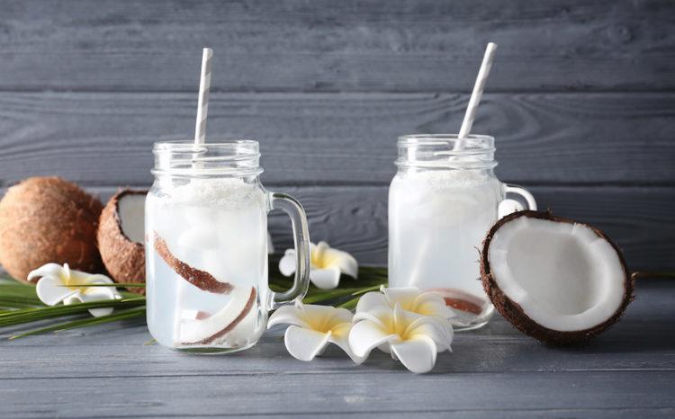 Tác dụng của nước dừa tươi